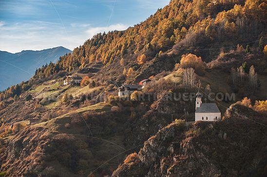 St. Peter und Bauernhof Galministein in Tanas