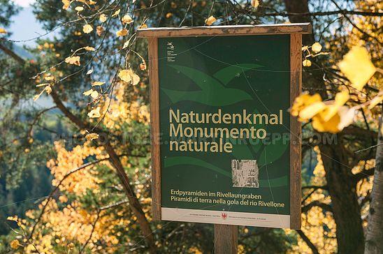 Naturdenkmal Erdpyramiden in Oberbozen