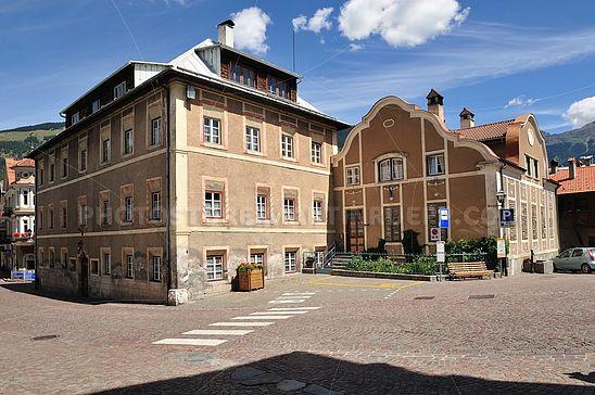 Historische Gebäude in Glurns