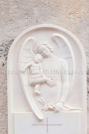 Kindergrabstein