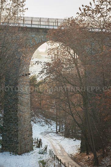 Fleimstalbahn-Brücke