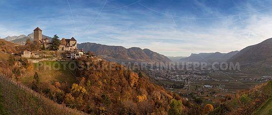 Schloss Tirol - Panorama