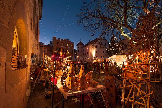 Am Weihnachtsmarkt Glurns