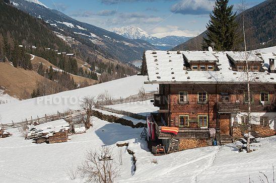 Bauernhof bei St. Gertraud im Ultental