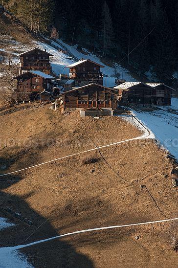 Bauernhöfe im Ultental