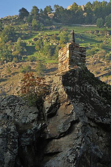 Stupa am Schloß Juval