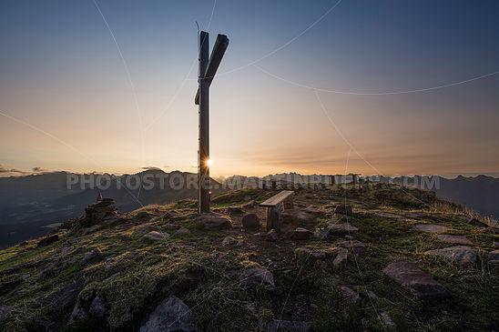 Sonnenaufgang am Schwarzhorn