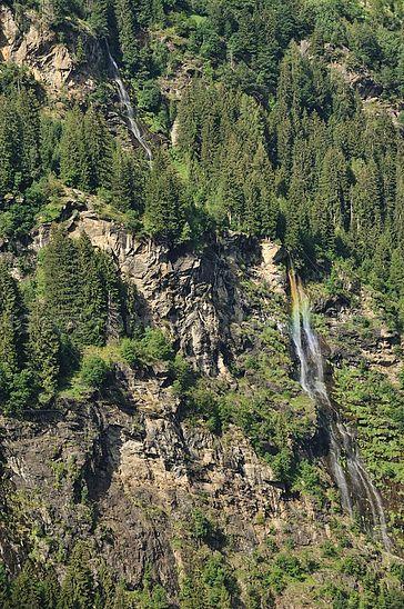 Der Wasserfall in Stuls