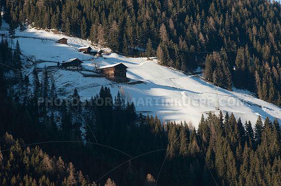 Brunnwiesen-Höfe im Ultental