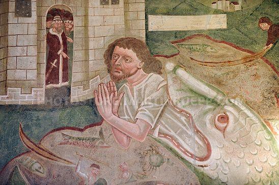 Jonas und der Wal in St. Nikolaus, Klerant