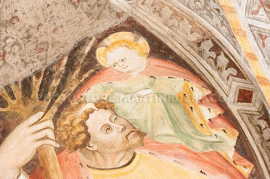 Christophorus mit Kind Jesus