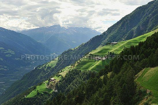 Bergbauernhöfe bei Naturns
