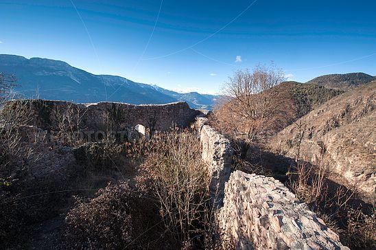 Die Ruine der Burg Greifenstein