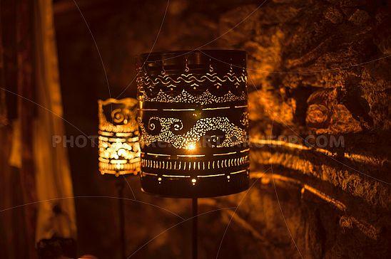 Blech-Lampen
