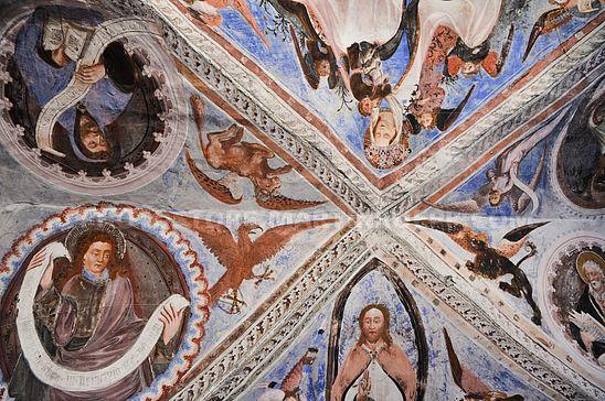 Fresken in St. Stefan, Morter