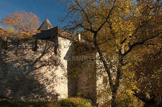 Herbst bei Schloss Summersberg
