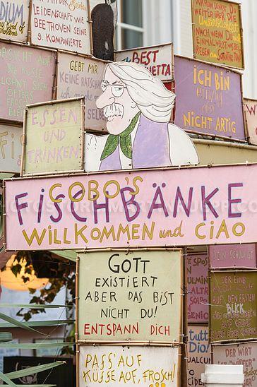 Fischbänke Bozen