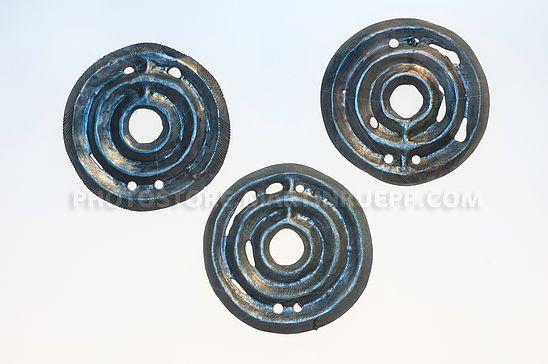Eisenzeitliche Bronzescheiben