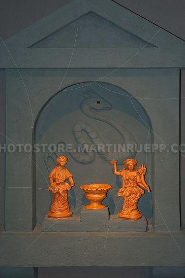 Römisches Lararium (Rekonstruktion)