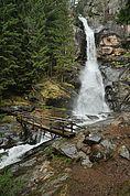 Oberer Wasserfall in Barbian