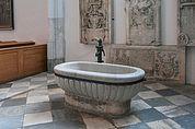 Taufbecken in der Pfarrkirche Sterzing