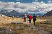 Bergwanderung im Spronser Tal