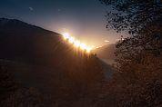 Sonnenbahn zur Wintersonnenwende