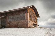 Die Scheune des Obermiglerhofs in Oberbozen