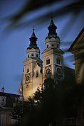 Türme des Doms in Brixen