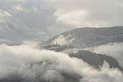 Erster Schnee in Kohlern