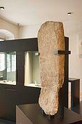 Algunder Menhir im Museum Meran