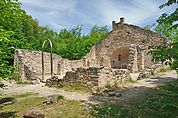 Die Ruine St. Peter in Altenburg
