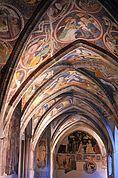 Göttliche Fresken und Arkaden