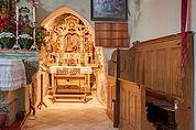 Grotte in der Kirche St. Martin im Kofel