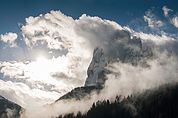 Wolkenberg Langkofel