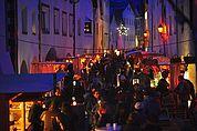 Am Weihnachtsmarkt in Glurns