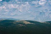 Fernsicht zu den Dolomiten