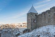 Turm und Schlossmauer Summersberg