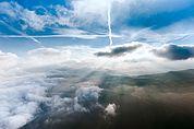 Wolken über der Seiser Alm
