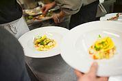 In der Restaurantküche