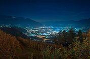 Meran bei Nacht