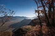 Blick vom Mitterberg zur Leuchtenburg