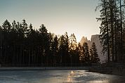 Sonnenaufgang am Wallnereck
