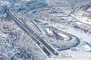 Die Brennerautobahn bei Klausen