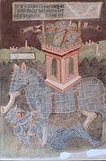 Eleazar unter dem Elefant