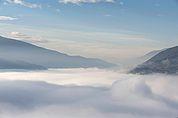Hochnebel über Brixen