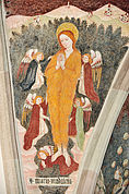 Die Himmelfahrt Magdalenas in der Kirche St. Nikolaus, Klerant