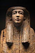 Ägyptische Mumie im Museum Meran
