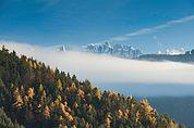 Latemar im Nebel