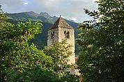 Der Turm von St. Sisinius in Laas
